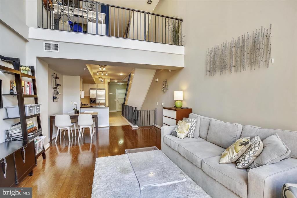 2 Story Living Room - 616 E ST NW #1155, WASHINGTON