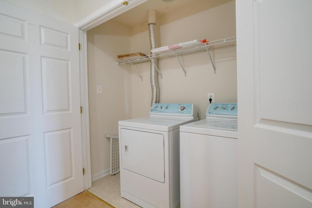 Laundry Room - 25192 WHIPPOORWILL TER, CHANTILLY