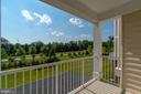 View from outside balcony! - 23305 MILLTOWN KNOLL SQ #112, ASHBURN