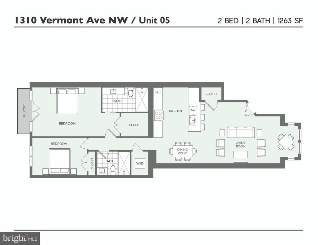 - 1310 VERMONT AVE NW #5, WASHINGTON