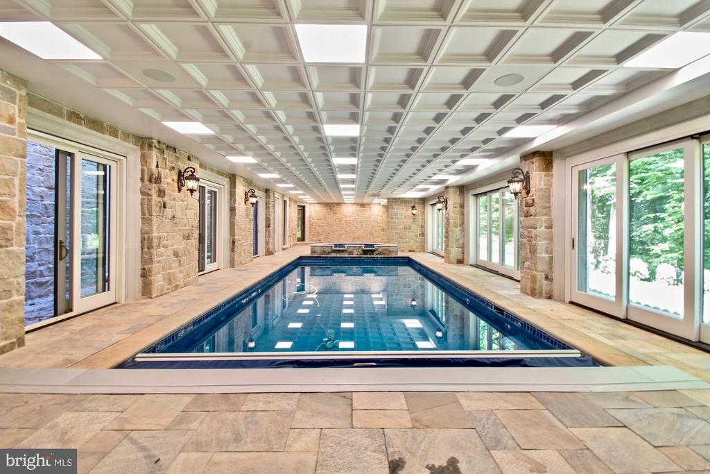 Heated Indoor Pool - 9305 INGLEWOOD CT, POTOMAC