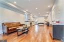 Large, Sunny Family Room with Wet Bar - 602 E ST SE #A, WASHINGTON