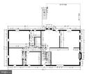 Main level measurements - 9031 GREYLOCK ST, ALEXANDRIA