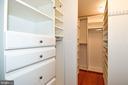 Master Closet - 605 7TH ST SW, WASHINGTON