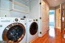 Laundry Closet - 605 7TH ST SW, WASHINGTON