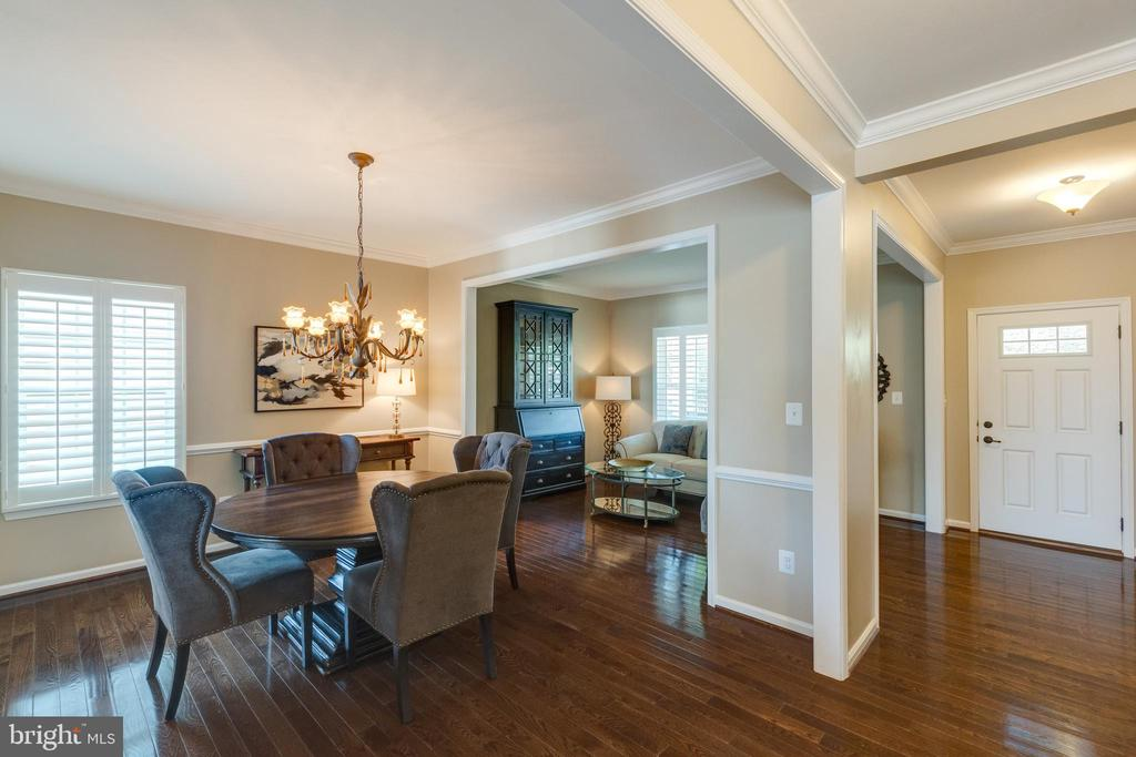 Dining room to living room - 25821 RACING SUN DR, ALDIE