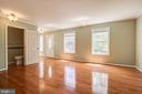 Beautiful wood floors - 14810 CROSSVALLEY RD, BURTONSVILLE