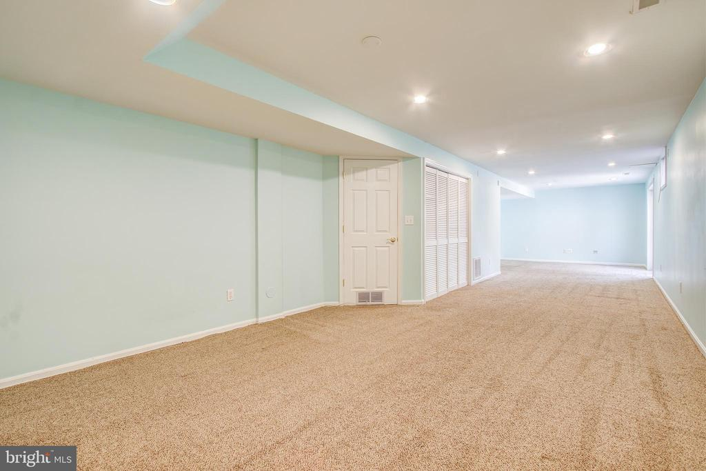 Lower level perfect for rec room, or guest bedroom - 14810 CROSSVALLEY RD, BURTONSVILLE