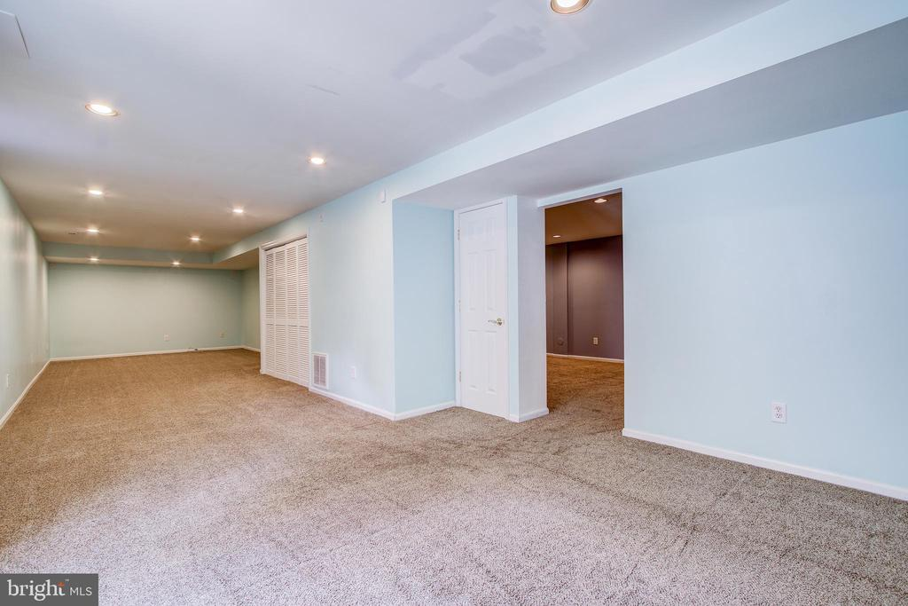 Spacious lower level - 14810 CROSSVALLEY RD, BURTONSVILLE