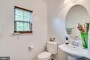 Half Bath (Main Level) - 4242 MEYERS RD, TRIANGLE