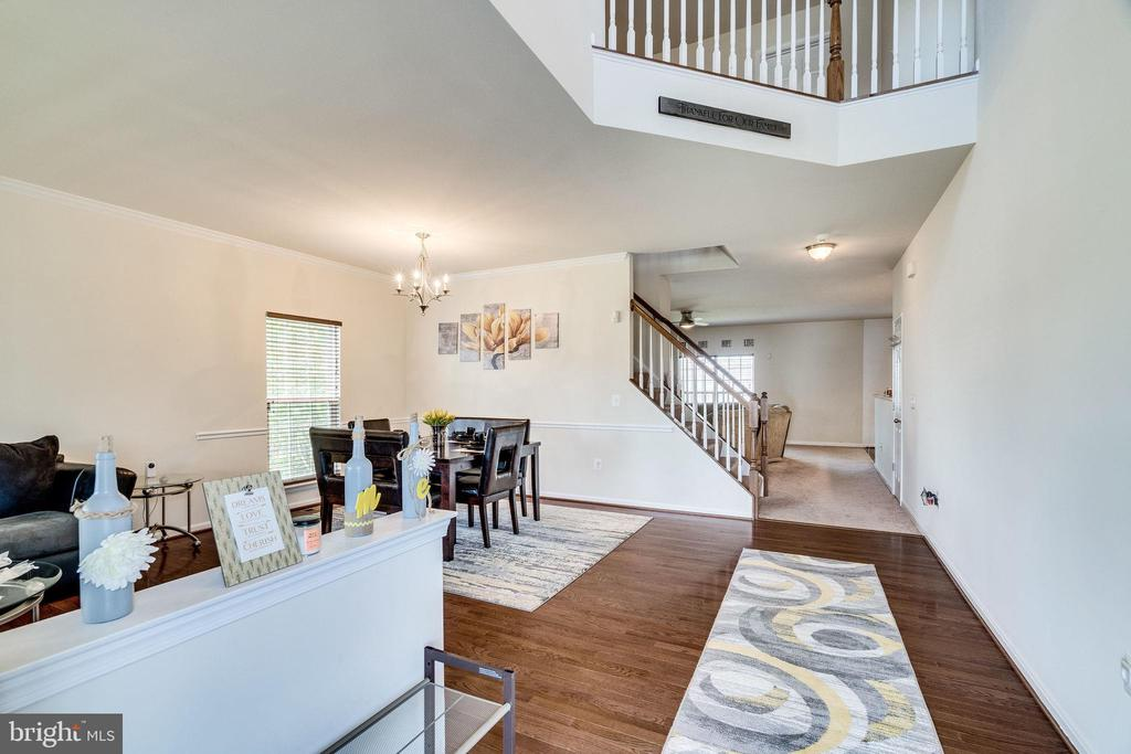 Foyer View - 4242 MEYERS RD, TRIANGLE