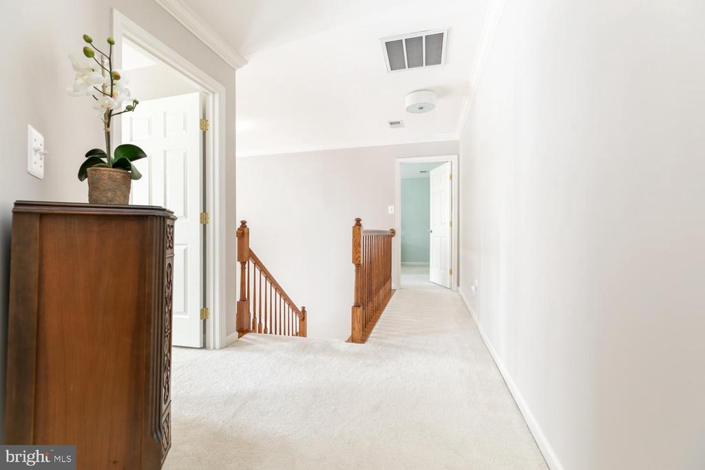 Upper level hallway - 43378 COTON COMMONS DR, LEESBURG