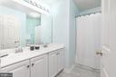 Hall bath - 43378 COTON COMMONS DR, LEESBURG