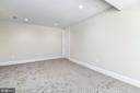 High ceilings with recessed lighting - 4401 GARRISON ST NW, WASHINGTON
