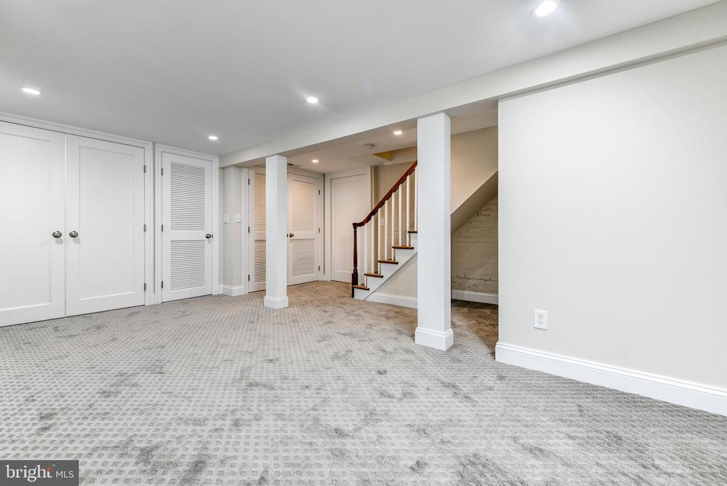 Lower level fully carpeted - 4401 GARRISON ST NW, WASHINGTON