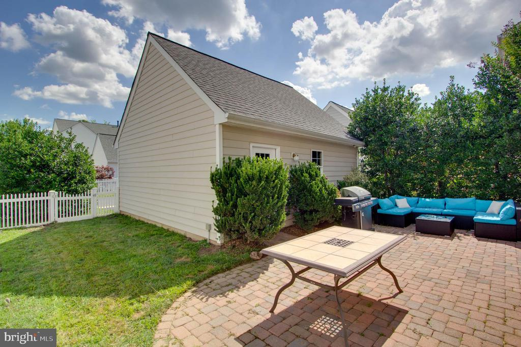 Rear Patio - 42612 ANABELL LN, CHANTILLY
