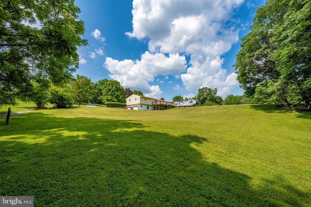 From the back of the lot - 3495 ADGATE DR, IJAMSVILLE