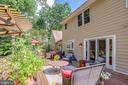 42 Ft Deck, Very Private, Backs to Green Space - 1960 BARTON HILL RD, RESTON