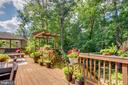 42 foot Deck and Flagstone Pavers, Luch Plants - 1960 BARTON HILL RD, RESTON