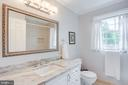 Upper Full Bathroom Beautifully Updated - 1960 BARTON HILL RD, RESTON