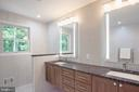 Backlit Mirrors, Suede Marble, Heated Floors - 1960 BARTON HILL RD, RESTON