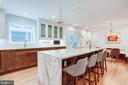 JDS Construction Designed Kitchen - 1960 BARTON HILL RD, RESTON