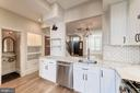 Bright honed finish stone countertops - 704 G ST NE, WASHINGTON