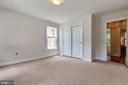 Second Bedroom - 9510 CLAYCHIN CT, BURKE