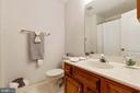 Full Bath on Upper Level - 9510 CLAYCHIN CT, BURKE