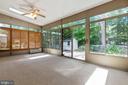 Sunroom - 9510 CLAYCHIN CT, BURKE
