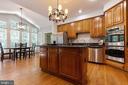 Gourmet Kitchen w/Breakfast Room - 9510 CLAYCHIN CT, BURKE