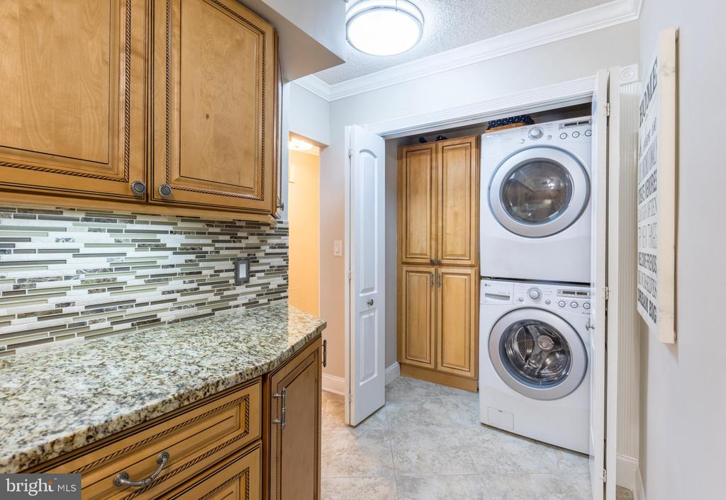 Additional storage & W/D closet - 1300 CRYSTAL DR #306S, ARLINGTON