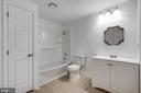 Full bathroom in basement - 348 EUSTACE RD, STAFFORD