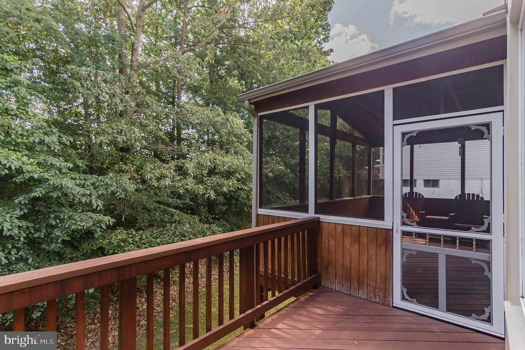 Open portion of deck - 36 WESTHAMPTON CT, STAFFORD