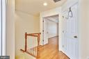 Upstairs Hall and Laundry - 8560 WYNGATE MANOR CT, ALEXANDRIA