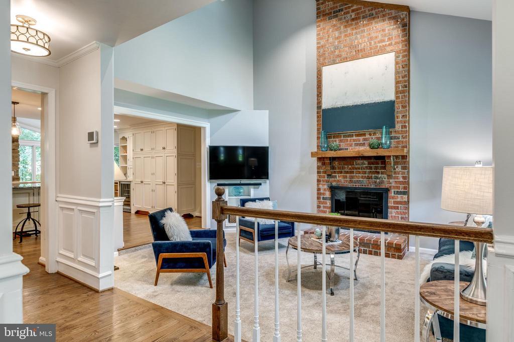 Family Room - 1224 BISHOPSGATE WAY, RESTON
