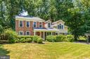 Front Exterior with Great Front Yard - 1224 BISHOPSGATE WAY, RESTON