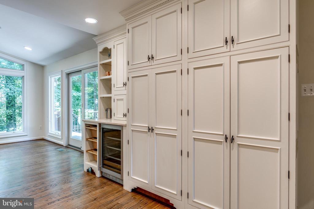 Kitchen Storage with Beverage Center - 1224 BISHOPSGATE WAY, RESTON