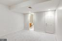 Lower Level Den / Gym Area with En-Suite Bathroom - 1224 BISHOPSGATE WAY, RESTON