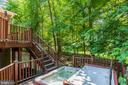 Hot Tub off Multi-Level Deck - 1224 BISHOPSGATE WAY, RESTON