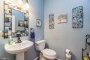 Main level half bath - 9818 UPPER MILL LOOP, BRISTOW