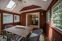 Three season room features eze-breeze windows - 505 WOODSHIRE LN, HERNDON