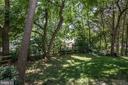 Mature trees create dappled shade - 505 WOODSHIRE LN, HERNDON