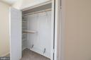Closet organizers in upper bedroom #2 - 505 WOODSHIRE LN, HERNDON