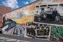 Downtown Herndon mural - 505 WOODSHIRE LN, HERNDON