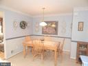 Kitchen table space, peek into Family Rm to left - 4301 CIDER BARREL CT, FREDERICKSBURG