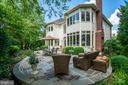 Custom stone patio - 43559 FIRESTONE PL, LEESBURG