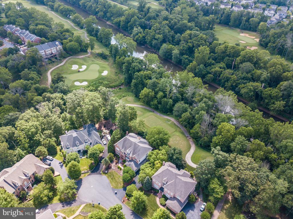 Cul-de-sac, golf views and Goose Creek - 43559 FIRESTONE PL, LEESBURG