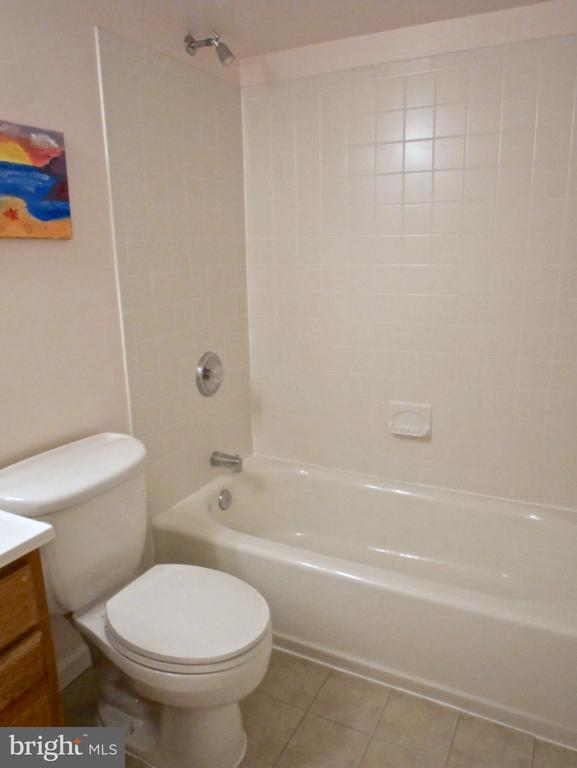 Basement Full Bath - 12003 MEADOWVILLE CT, HERNDON