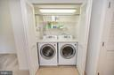 Washer/dryer to convey - 48 HUNTING CREEK LN, STAFFORD